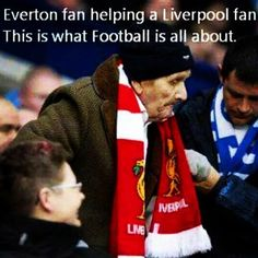 """""""#Football is about respect What are your predictions for the Merseyside derby today❓#LFC #YNWA"""""""