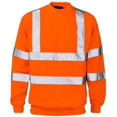 ST Hi Vis Crew Neck Sweatshirt   Supertouch Website