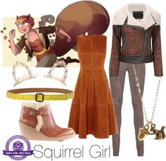Everyday Cosplay: Squirrel Girl! | Geek Girl Pen Pals Club #IGGPPC