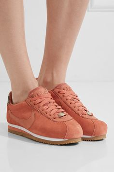 Nike - A.l.c. Classic Cortez Suede Sneakers - Blush