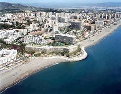 Torremolinos, Spain, is a municipality on the Costa del Sol of the Mediterranean, immediately to the west of the city of Málaga, in the province of Málaga.