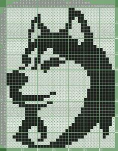 Knitting Charts, Knitting Patterns, Crochet Patterns, Pixel Pattern, Dog Pattern, Crochet Chart, Filet Crochet, Cross Stitch Charts, Cross Stitch Patterns