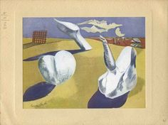 Paul Nash, Margaret Nash, recipient: Eileen Agar 'Page © Tate Christmas Card Pictures, Christmas Cards, Mail Art, Creative Inspiration, Art History, Abstract, Agar, Illustration, Artist