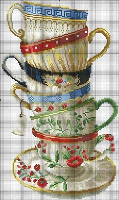 Thrilling Designing Your Own Cross Stitch Embroidery Patterns Ideas. Exhilarating Designing Your Own Cross Stitch Embroidery Patterns Ideas. Cross Stitch Kitchen, Cross Stitch Love, Cross Stitch Charts, Cross Stitch Designs, Cross Stitch Patterns, Ribbon Embroidery, Cross Stitch Embroidery, Embroidery Patterns, Cross Stitching