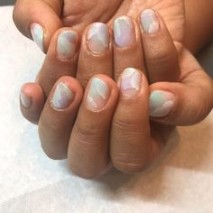NEW なんとなくのイメージを伝えて後はお任せしたらそれ以上の仕上がりに . 前回とはガラリと雰囲気を変えて天然石のようなお空のようなネイルに . 今回で2回目だけど爪の形が綺麗になったよ Thank you @rivacouture  . #nails #naildesigns #nailstagram #nailsdone #gelnails #onairpersonality #partymc #hulagirl #selfdiscoveryjourney #sapporo #hokkaido #hawaii #aloha #ハワイ #アロハ #札幌 #北海道 #ラジオdj #司会者 #マッサージセラピスト #鍼灸師 #通訳 #ライター#フラガール #ロコガール #ネイル #ジェルネイル #ネイルアート #神業