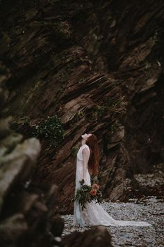 Moody Bridal Portrait Session in England - Once Wed