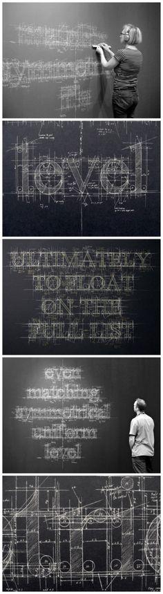 Liz Collini font Design Art  #typography