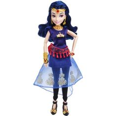 Disney Descendants Evie Genie Chic Isle of the Lost Doll Disney Descendants Dolls, Disney Dolls, Descendants Characters, Barbie Dolls, Modern Day Disney, Frozen Dolls, Isle Of The Lost, Decendants, Disney Merchandise