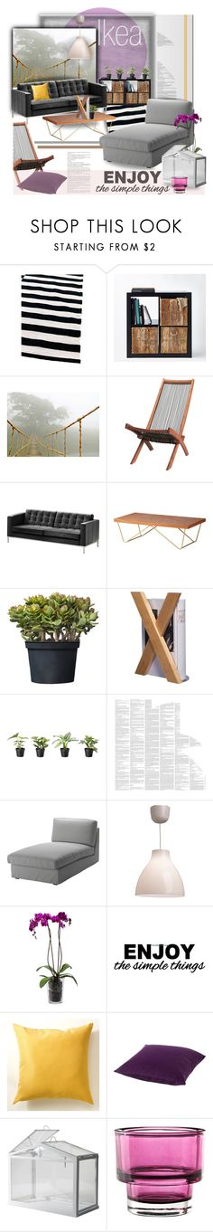 The Ikea concept by helia on Polyvore featuring interior, interiors, interior design, home, home decor, interior decorating and Spineless Classics