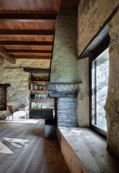 Cozy Renovation of a Rural Stone Building in Italy by act_romegialli | Wave Avenue