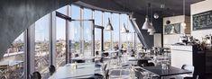 room with a vju |Das Café im Energiebunker in Hamburg-Wilhelmsburg