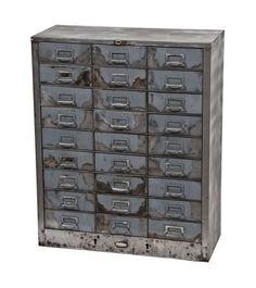 Metal Filing Cabinet Makeover | Furniture makeover, Industrial ...
