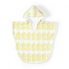 Roomblush • Badponcho Feathers yellow
