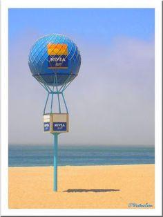 A bola da Nivea nas praias