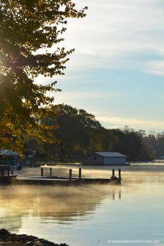 Steam fog Lake Norman | homeiswheretheboatis.net