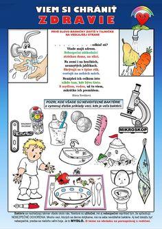 Pracovné listy a omaľovánky Márie Novákovej - Zavretá škola - ako učiť doma Health Activities, Activities For Kids, Crafts For Kids To Make, Preschool Learning, Special Needs, Kindergarten, Science, Erika, Children
