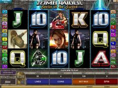 Tomb Raider 2: The Secret of the Sword online slot game. Play for free and learn about the game features. read our reviews on TombRaider II video slot machine.