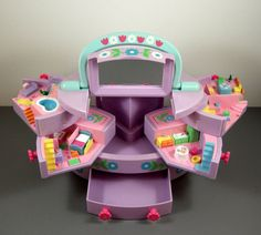 Polly Pocket Jewelry Case Playset // Vintage by UBlinkItsGone
