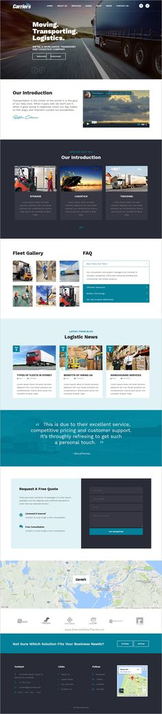 Carriers is a modern and clean design responsive 2in1 #WordPress theme for Transport, #Transportation, Logistic, #Warehouse companies website download now➩ https://themeforest.net/item/carriers-transport-logistic-theme/18375338?ref=Datasata