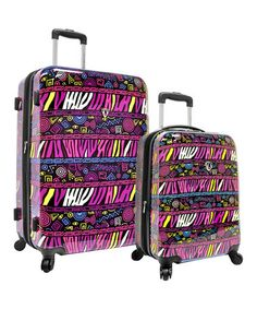 Take a look at this Bohemian Expandable Wheeled Upright Set by Traveler's Choice Travelware on #zulily today! $165 !!