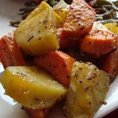 Baked Sweet Potatoes ~ These were delicious. I <3 sweet potatoes!