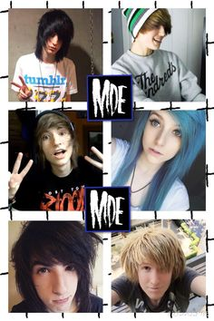 Johnnie Guilbert, Jeydon Wale, Kyle David Hall, Jordan Sweeto, Bryan Stars=My Digital Escape :D- I made this! :)