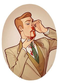 "Bioshock Infinite - ""Robert, your nose- Oh, never mind..."""