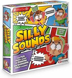 Silly Sounds is a brand new family-fun party game where everyone gets to make and guess the silly sound stuck on your headband!. Making silly sounds is only half the fun, guessing them is the other half! I can see this one causing endless laughter! For 2-4 players aged 8 years and over (although I can see Rex joining in!). Available from Amazon priced £9.99. Christmas Gift Guide, Christmas Games, Christmas Gifts For Kids, Christmas Ideas, Family Games, Games For Kids, Games To Play, Fun Party Games, Traditional Games