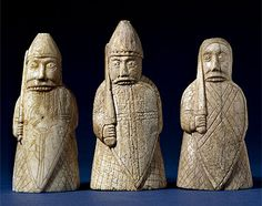 Berserkers from Lewis chessmen