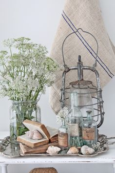 Coastal decor, beach art and furniture. You can improve the natural beauty in your home with splashes of white, as well as beach house decorating ideas. Coastal Cottage, Coastal Homes, Coastal Style, Coastal Living, Coastal Decor, Cedar Hill Farmhouse, Farmhouse Decor, French Farmhouse, Deco Boheme Chic
