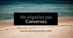 La conversation commerciale. www.olivierkamel.com