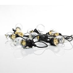 LJUSSLINGA MARKSLÖJD DAKKE 10 KLARA LED LAMPOR IP44 - Vägglampa utomhus - Utomhusbelysning - Belysning Led Lamp, Beams, Veil, Pearl Earrings, Outdoor Decor, Jewelry, Lightning, Moon, Products