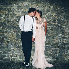 A Glamorous Gatsby Inspired Rustic Barn Wedding With a Tadashi Shoji Gown | Love My Dress® UK Wedding Blog