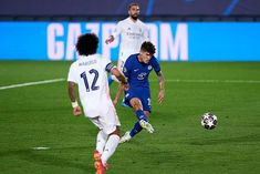 Advantage Blues despite Karim Benzema's strike, after Christian Pulisic netted fine solo effort early on in Spain to secure crucial Champions League semi-final away goal. Chelsea Match, Chelsea Fc, Real Madrid Team, Christian Pulisic, Stamford Bridge, Isco, Football, Semi Final, Paris Saint