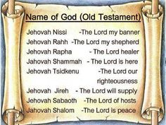The names of God from the Old testament. Jehovah Jireh - my God supplies ALL of my needs Prayer Verses, Bible Verses, Scripture Study, Quick View Bible, Bible Mapping, Lord Of Hosts, Names Of God, Jehovah Names, Inspirational Verses