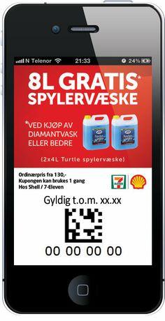 Shell/7-Eleven - Spylervæske
