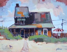 """Beach Cottage 19"" by Kevin Larson"