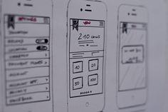 Sketching website/app layouts