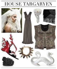 Daenerys Targaryen needs a new outfit. Game of Thrones.