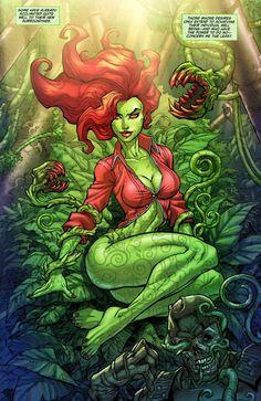 I like the vines, the biting plants, and she is fierce