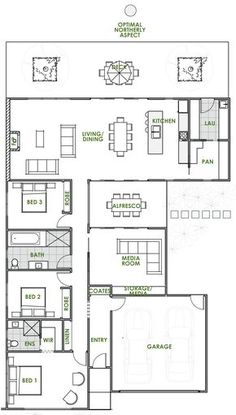 Are you looking for the latest in eco house design? An Iris energy efficient house plan from Green Homes Australia is exactly what you're looking for.