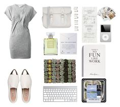 """in good mood(?)"" by mahalaksmidhaneswara ❤ liked on Polyvore featuring IRO, Miu Miu, The Cambridge Satchel Company, Dogeared, Chanel, Shop Succulents, Maison Margiela, Selfridges and Chronicle Books"