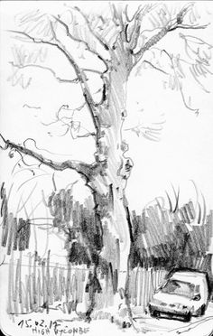 New Tree Painting Realistic To Draw Ideas Sketchbook Drawings, Pencil Art Drawings, Realistic Drawings, Landscape Sketch, Landscape Drawings, Landscape Art, Tree Sketches, Nature Sketch, Urban Sketching