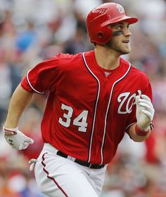 Bryce Harper, Washington Nationals-he is perfection <3