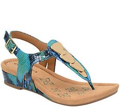 Comfortiva by Softspots Thong Sandals - Summit