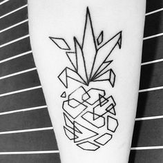 Drawing Tips pineapple drawing Bff Tattoos, Best Friend Tattoos, Line Tattoos, Body Art Tattoos, Sleeve Tattoos, Small Tattoos, Tatoos, Pineapple Tattoo Meaning, Pinapple Tattoos