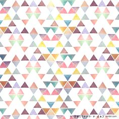 A Pattern a Day - Every day Belgian architecture student Annelies creates a pattern illustration and posts it on her blog.