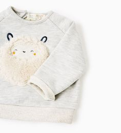 SHEEP SWEATSHIRT-NEW IN-MINI | 0-12 months-KIDS | ZARA United States