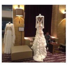 Her majesty the dress! Mihano Momosa