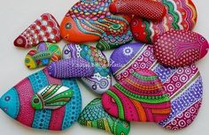 Creative Ideas - DIY Painted Stones and Pebbles
